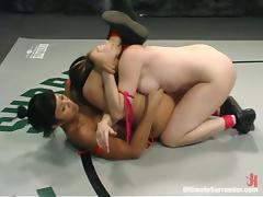 Dana Dearmond licks paws and gets toyed after a remedy