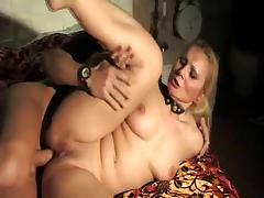 Italian hot mature fucked in the brush greedy holes