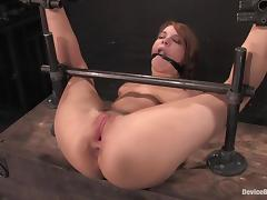 Bondage videos. Extremely wicked women gladly decide to try out bondage during fucking