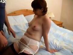 Two Nasty Dudes And One Wild Mature Broad In Hardcore Sex