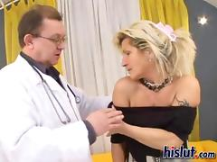 Renata demands a cock and her doctor gives it to her