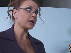 Goddess MILF In Glasses Janet Mason Gets Fucked By Huge Black Cock