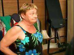 Mature women sucking dicks and showing boobs