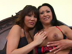 Ava Devine And Kitty Landgon In A Hardcore Interracial Doggystyle Threesome
