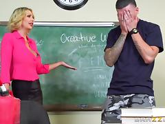 dirty teacher gets laid with student