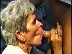 GERMAN GRANNY WITH GREY HAIR FUCKED OUTDOOR BY A MEN PART 1